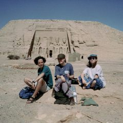 Tony and Friends at Abu Simbel