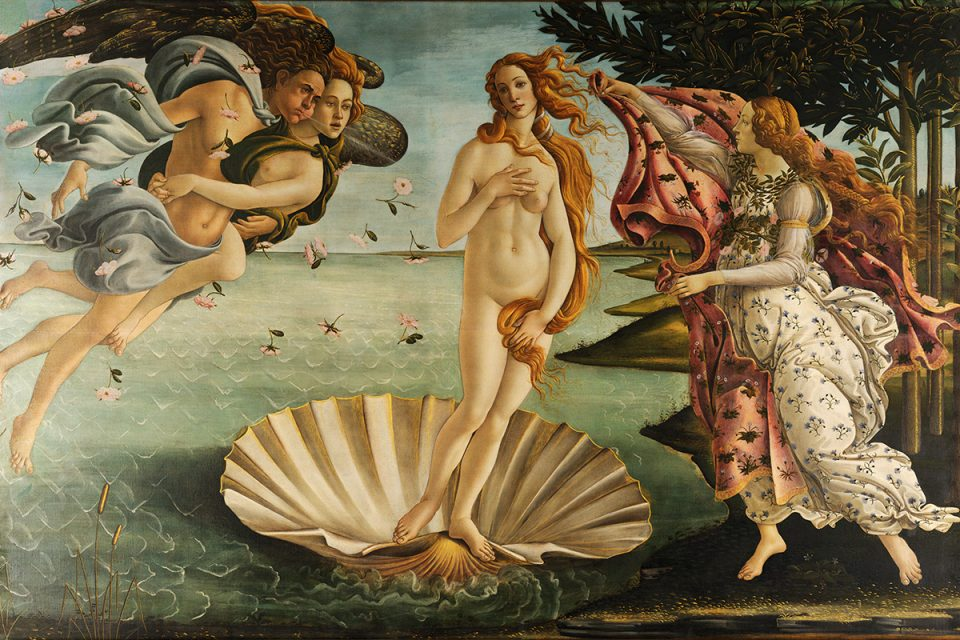 Uffizi Gallery: Botticelli's The Birth of Venus