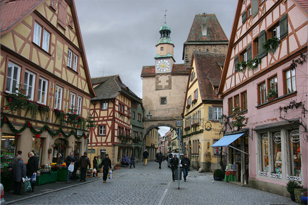 Rothenburg Ob Der Tauber Contemporarynomad Com