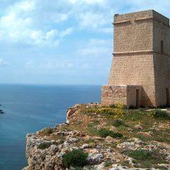Lippia Watchtower near Gnejna Bay