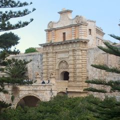The Main Gate of Mdina