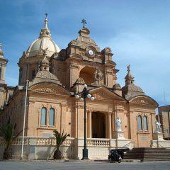 The Nadur Basilica on Gozo