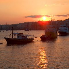 The Sliema Harbor