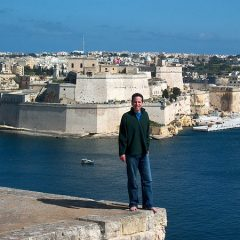 Tony in Valletta