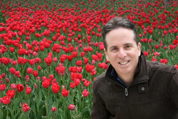 Tony in the Topkapı Palace gardens