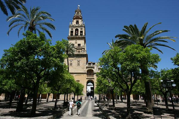 The Mezquita in Cordoba, Spain