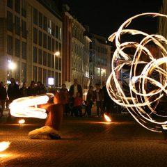 Fire Dancers at the Gendarmenmarkt