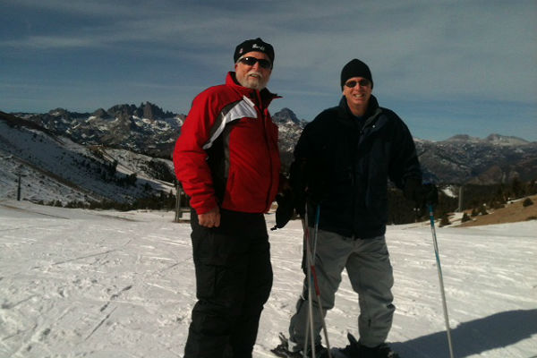 Tony and Larry in Mammoth