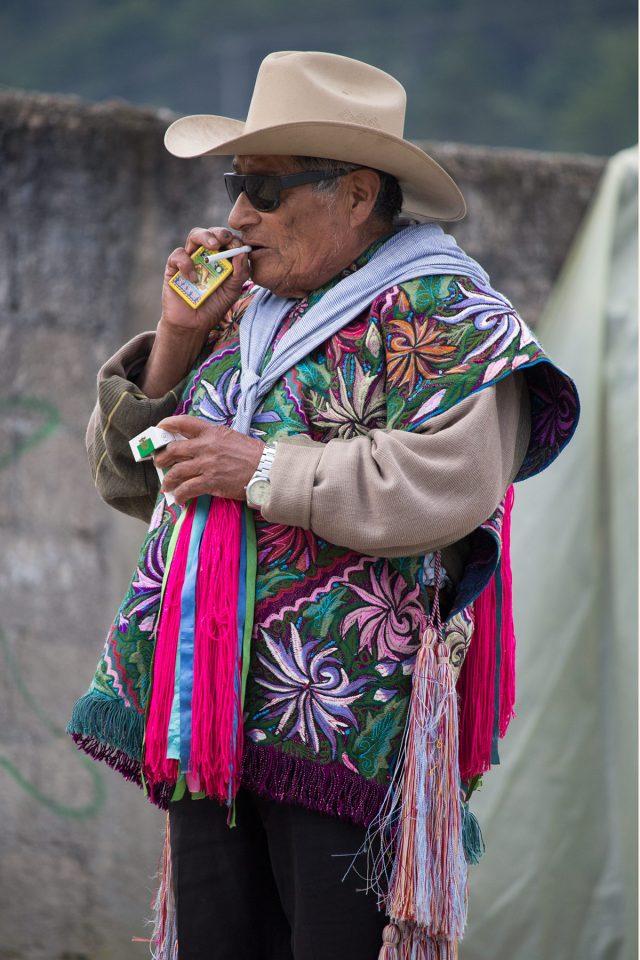 Man at market in Chiapas