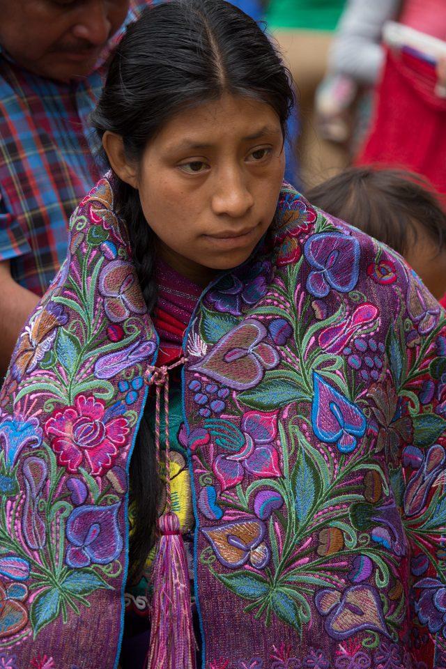 Lady at Zinacantan Market