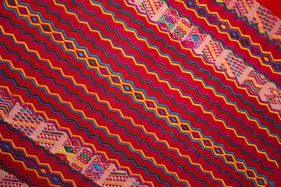 Ornate textiles of Chiapas