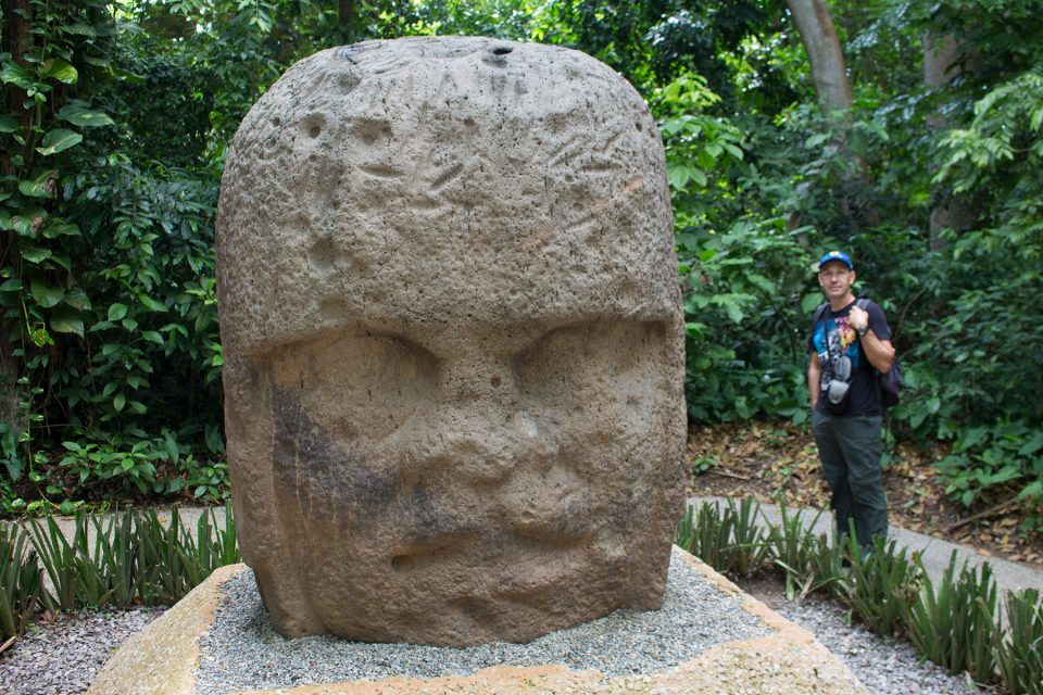 Colossal Olmec Head La Venta (Monument 3)