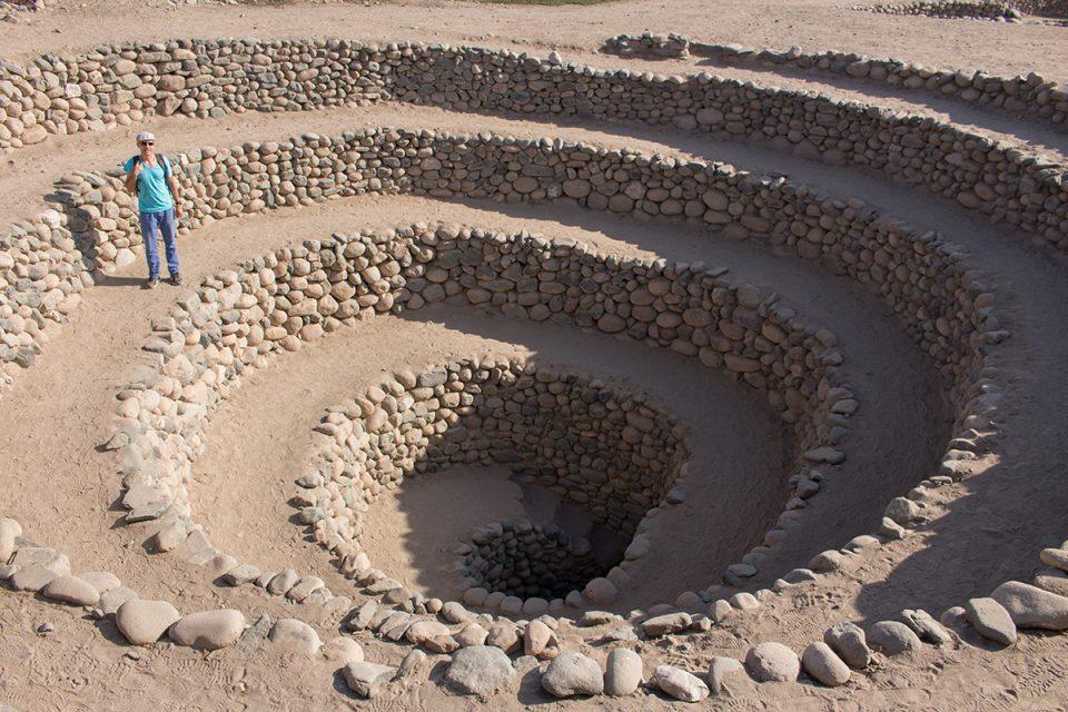 Extraordinary Nazca Lines: Cantalloc aqueducts