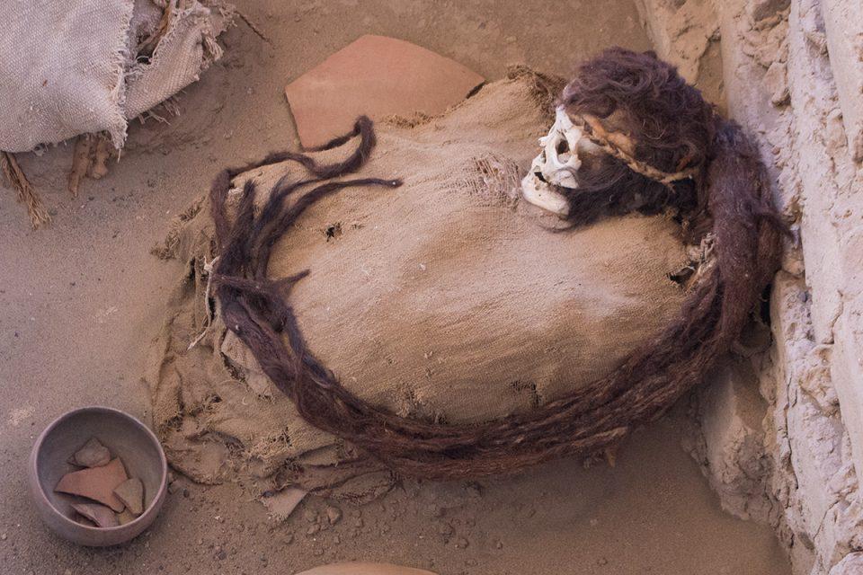 Extraordinary Nazca Lines: Nazca mummy