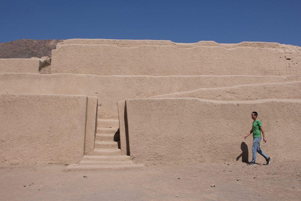 Extraordinary Nazca Lines: Pardeones ruins