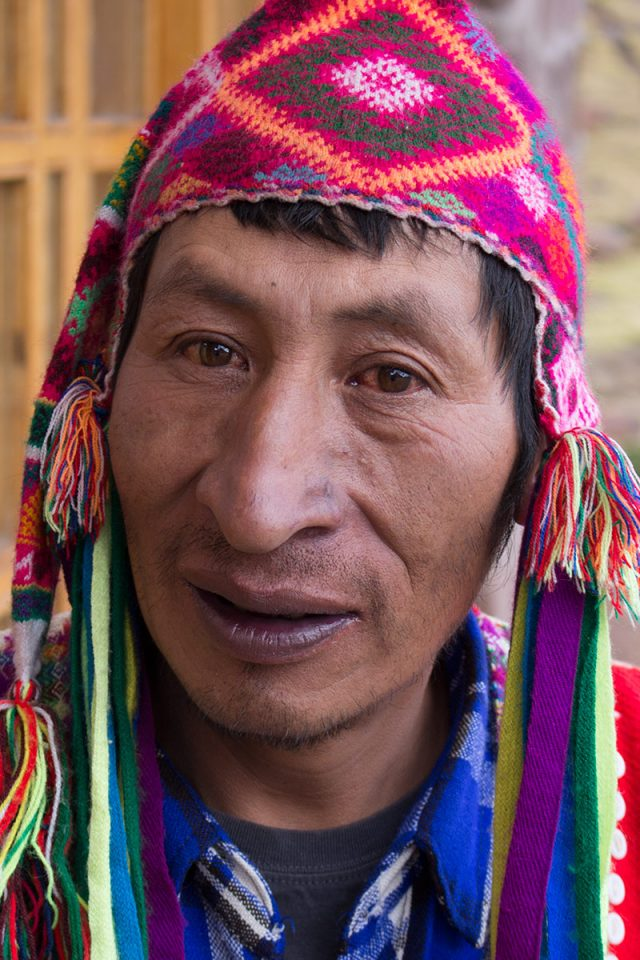 Andean Lodges: Tio Mario, the last of the real Inca
