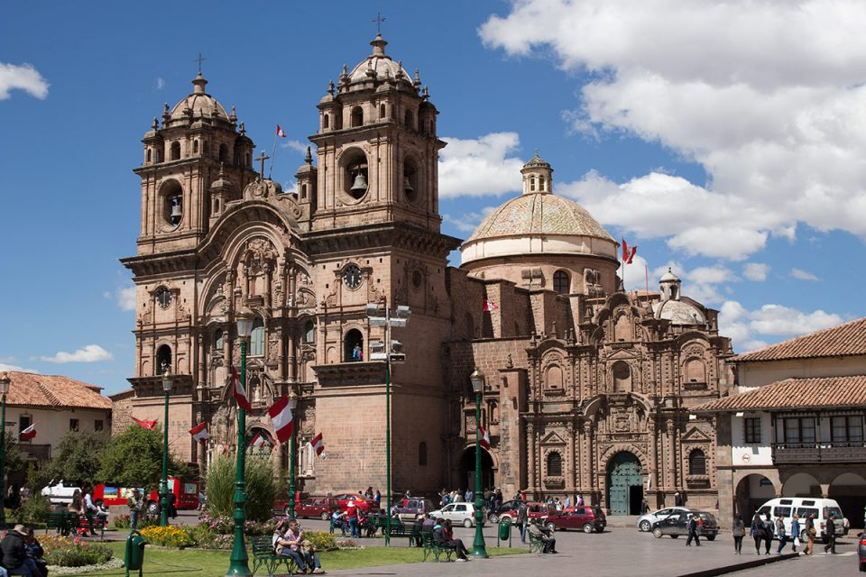 Colonial grandeur of Cusco