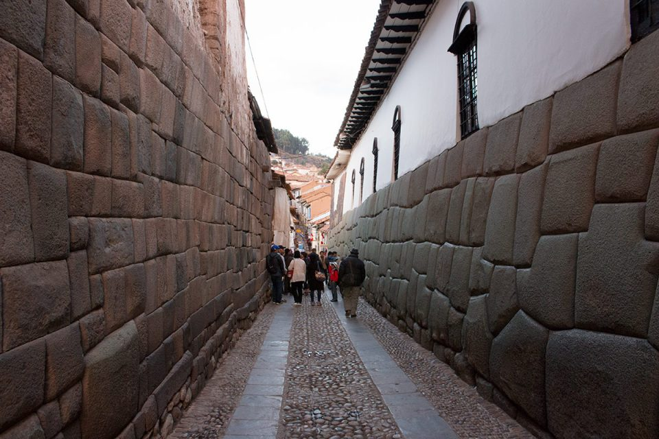 The Inca foundations of Cusco