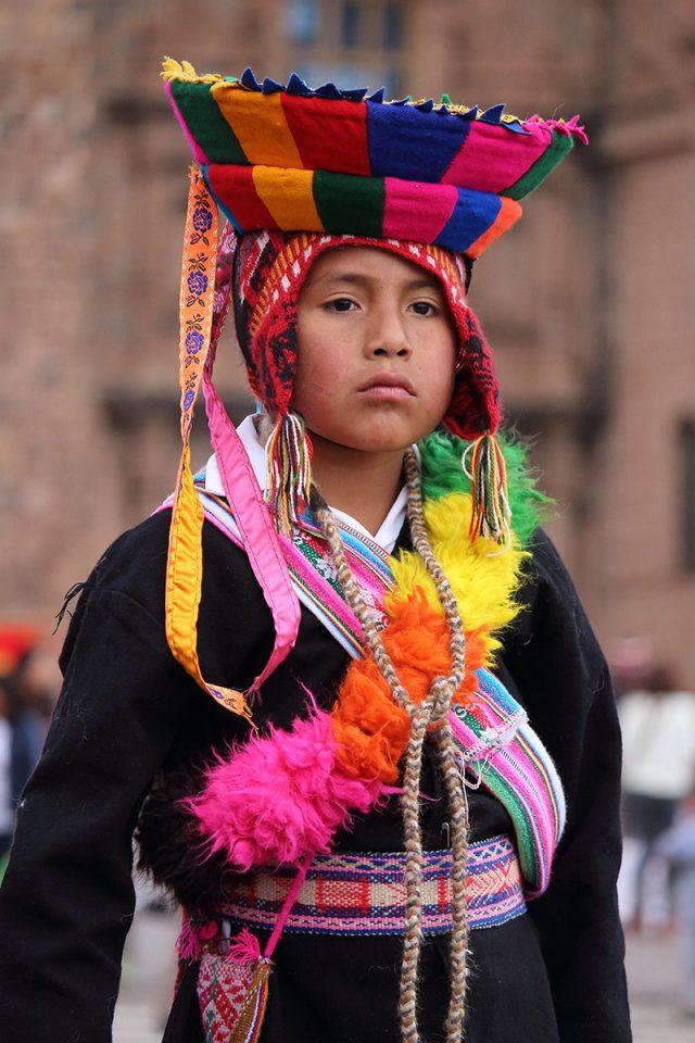 Children perform traditional dances