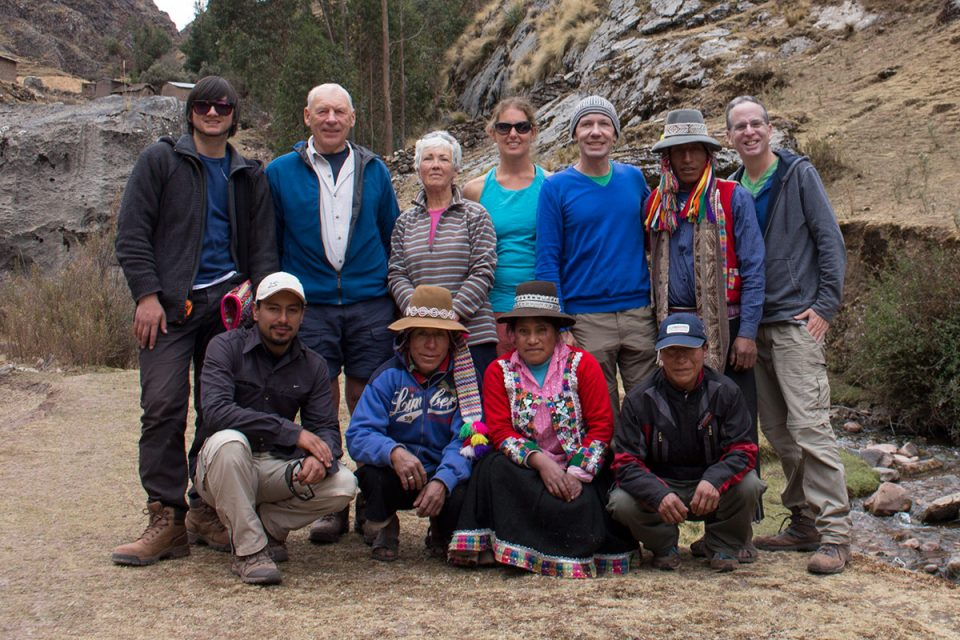 Ausangate trek: Our trekking group