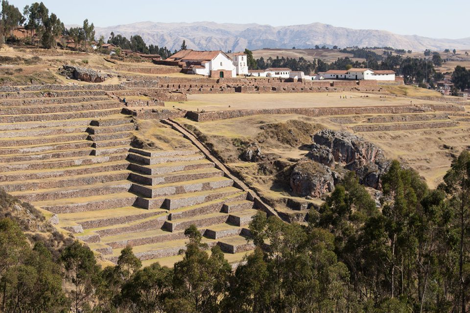 Inca terraces at Chinchero
