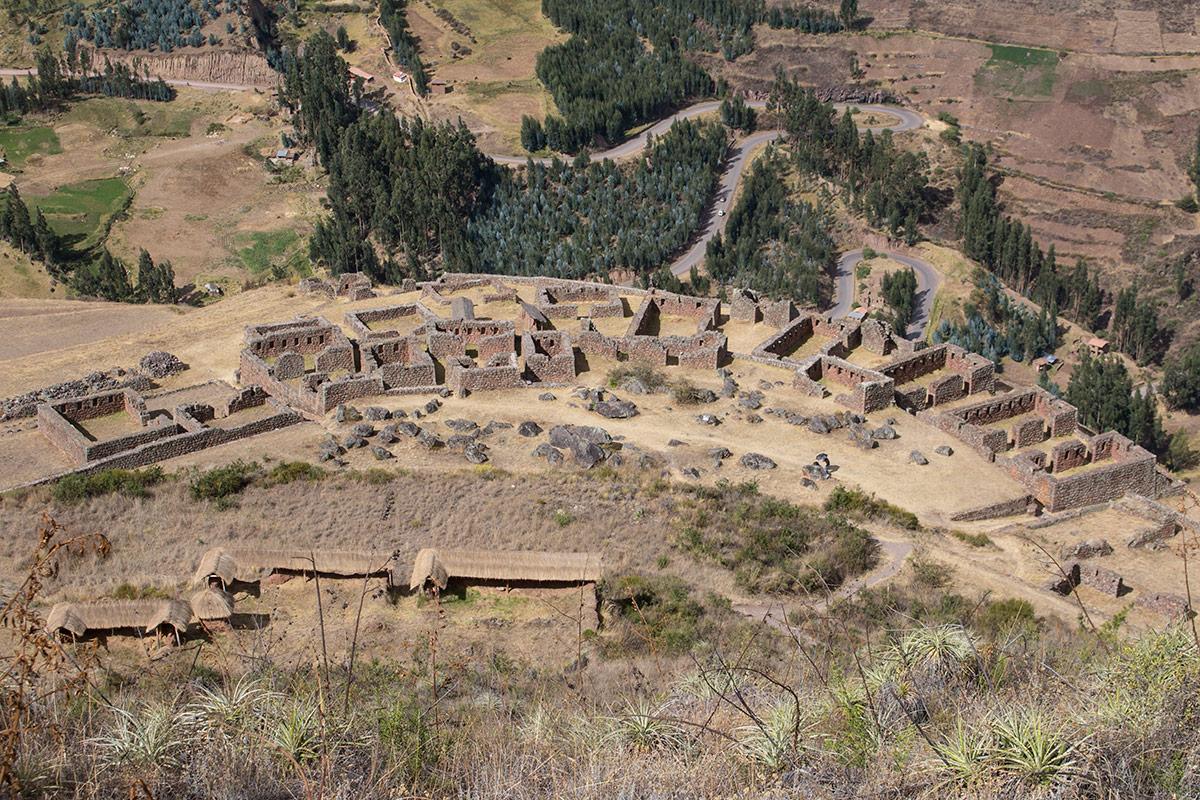 Overlooking Pisac ruins