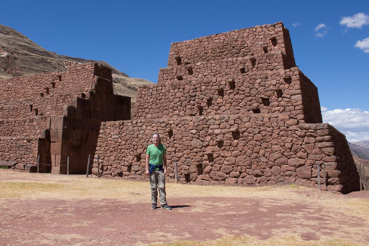 Giant gates at Piquillacta