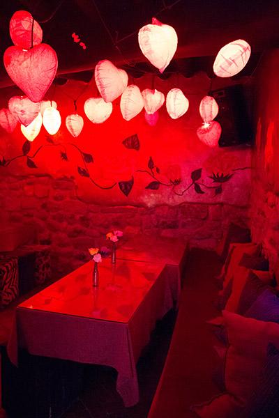 Fallen Angel heart lounge