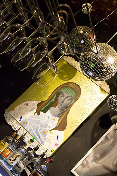 Madonna of the bar
