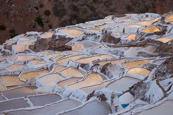 The salt pans of Salineras
