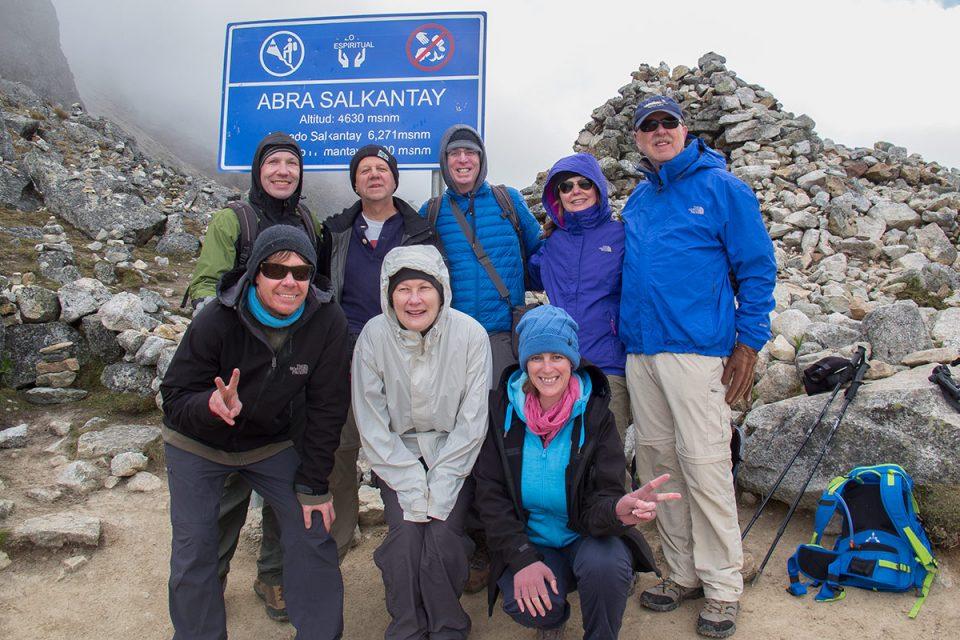 Salkantay trek to Machu Picchu: Crossing Salkantay Pass