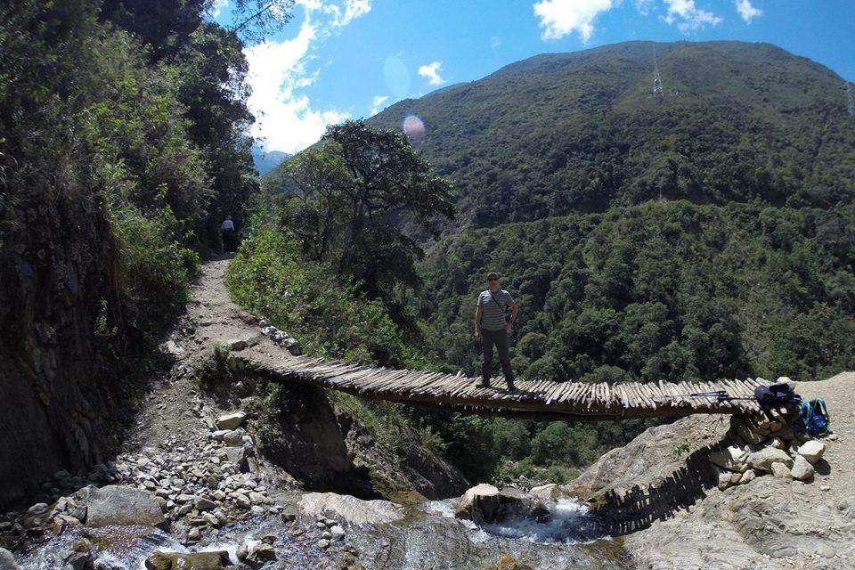 Salkantay trek to Machu Picchu: Hiking through the jungle