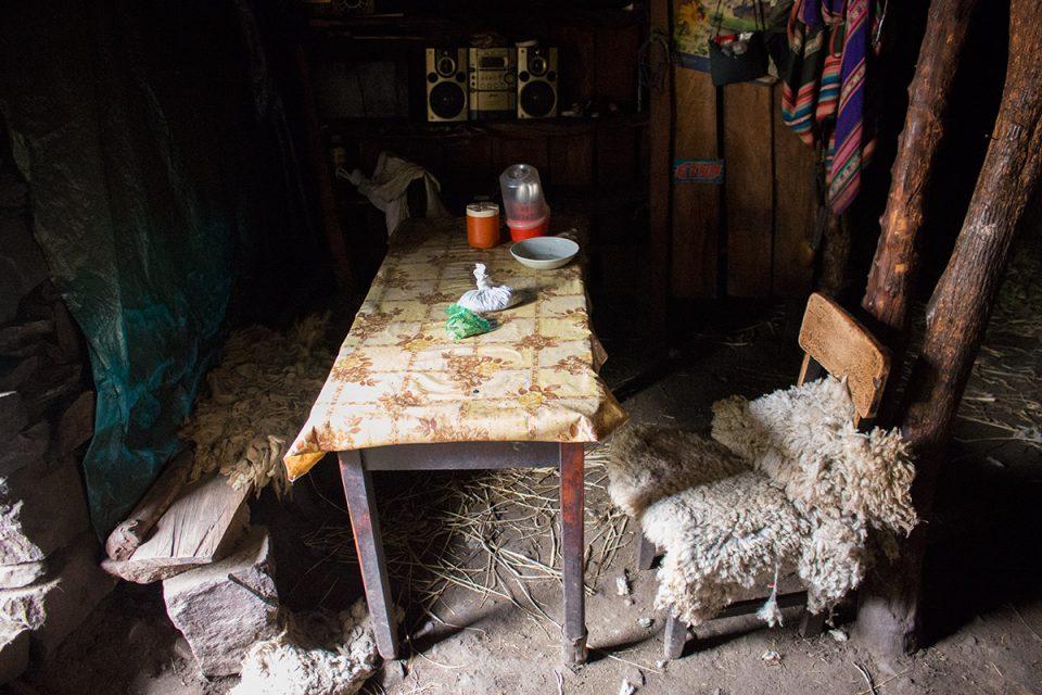 Salkantay trek to Machu Picchu: Traditional Quechua house
