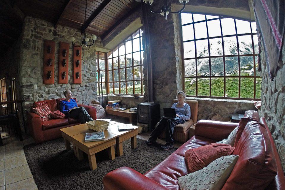 Salkantay trek to Machu Picchu: Hanging out in Wayra Lodge