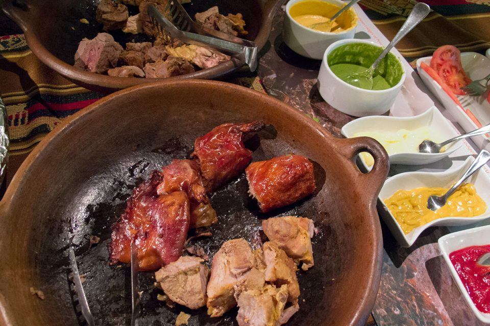 Salkantay trek to Machu Picchu: Guinea pig and other specialties