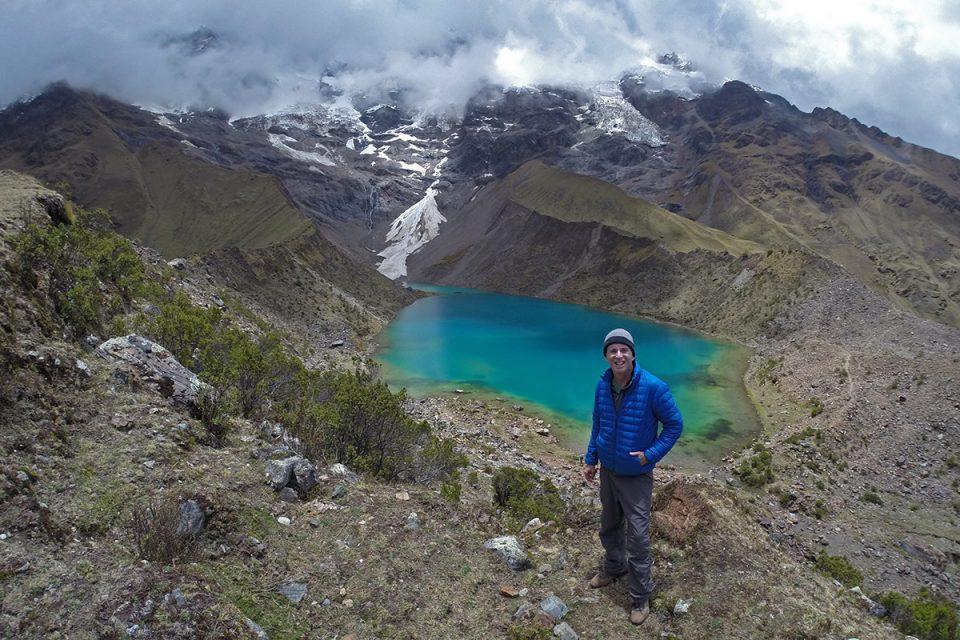 Salkantay trek to Machu Picchu: Laguna de Humantay