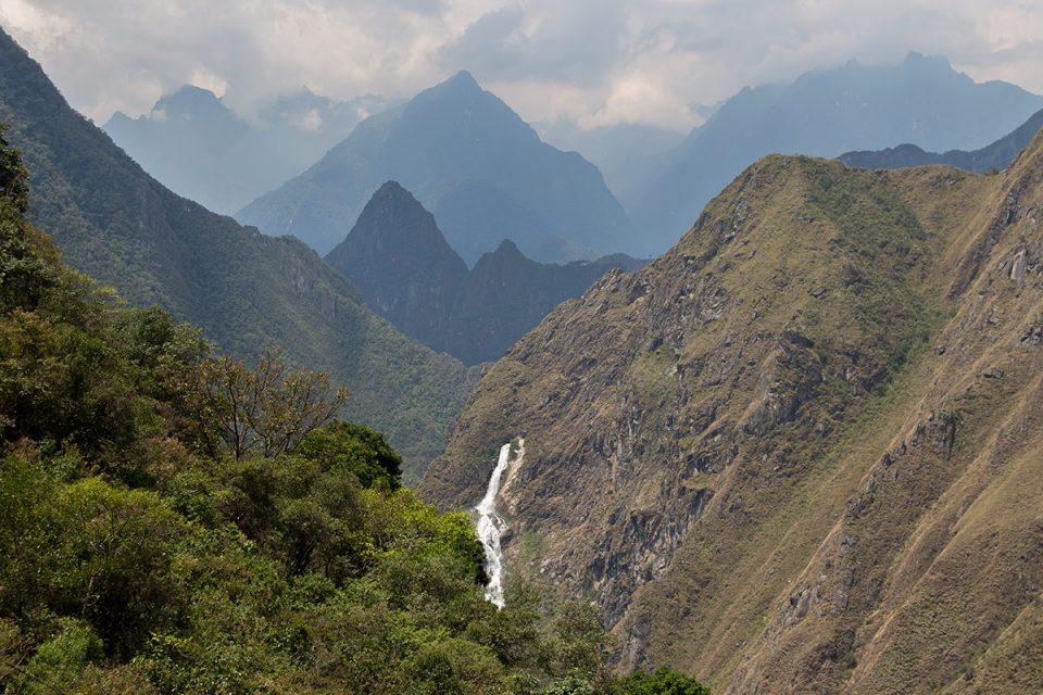 Salkantay trek to Machu Picchu: Landscape around Machu Picchu