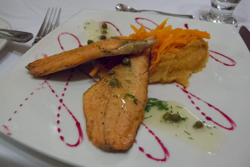 Salkantay trek to Machu Picchu: Dinner at Salkantay Lodge