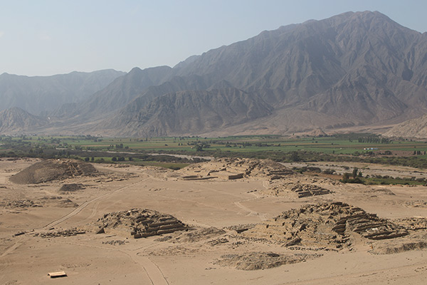 View over Caral