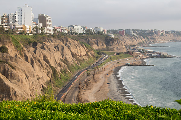 Cliff of Lima