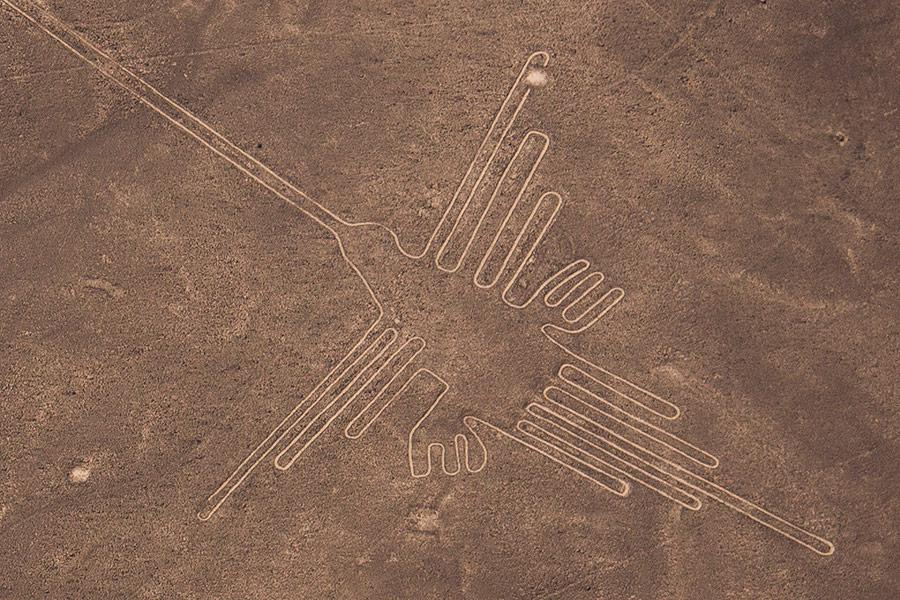 Extraordinary Nazca Lines: Nazca Hummingbird