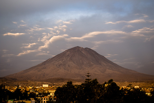 Arequipa's most famous volcano, Misti