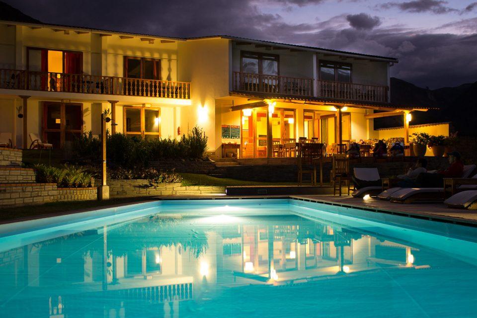 Night at Gocta Lodge
