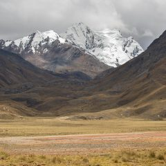 Landscape around Huaraz