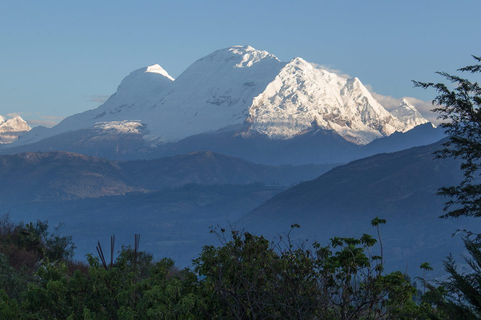 Huascarán, highest mountain in Peru