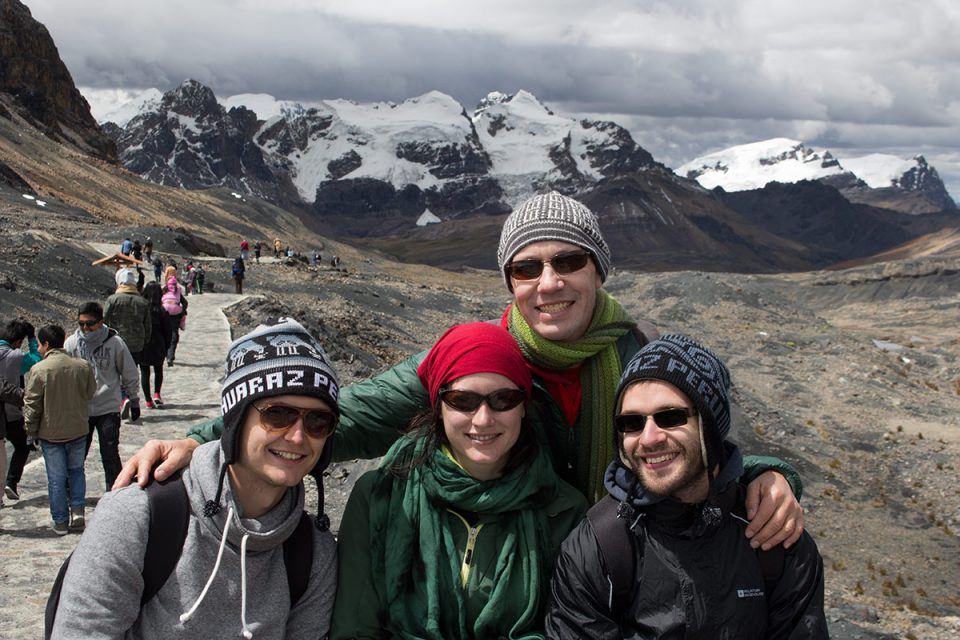 Visiting the Pastoruri Glacier with Brad, Christine, and Chis