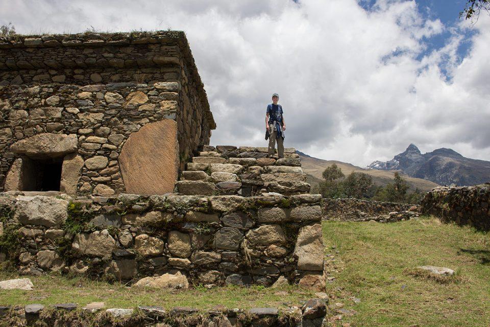 Wilcahuain ruins