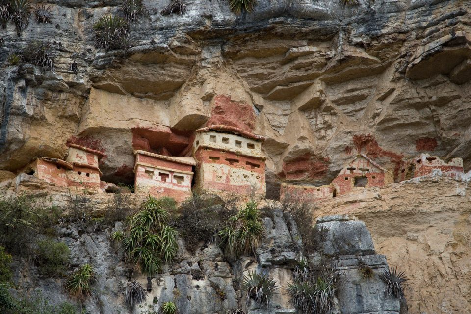 The cliff tombs of Revash