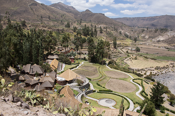 Overlooking Colca Lodge