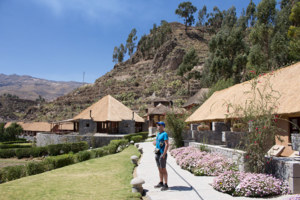 Thomas at Colca Lodge